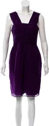 Robert Rodriguez Silk Sleeveless Dress