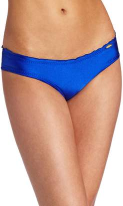 Luli Fama Women's Cosita Buena Full Coverage Ruched Back Bottom