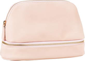 Cathy's Concepts Monogram Faux Leather Cosmetics Case