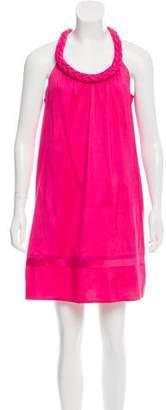 Calypso Sleeveless Silk Dress
