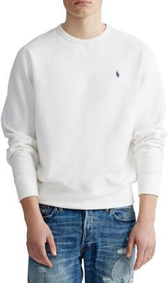 Polo Ralph Lauren Crewneck Cotton-Blend Fleece Sweatshirt