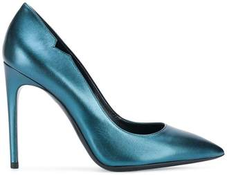 Pollini pointed toe stiletto pumps
