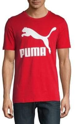 Puma Classic Logo Cotton Jersey Tee