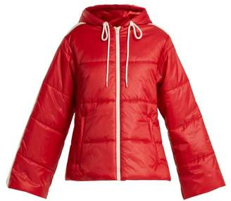 Gucci Quilted Shell Jacket - Womens - Red