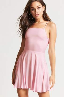 Forever 21 Cutout-Back Cami Swing Dress