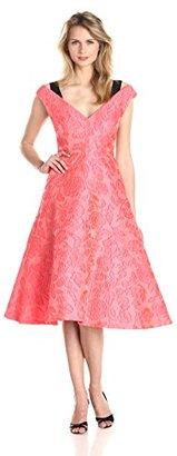 Tracy Reese Women's Floral Gossamer Cloque Dress $151.53 thestylecure.com