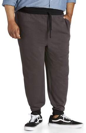 Canyon Ridge Big Men's Contrast Waistband & Cuff Knit Jogger