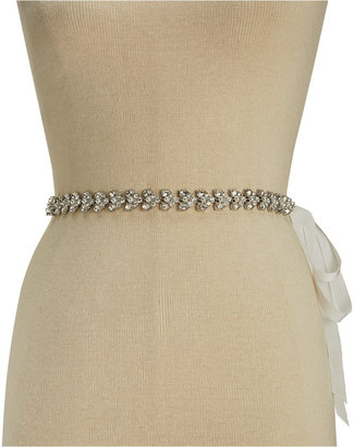 kate spade new york Grosgrain Rhinestone Bridal Belt $88 thestylecure.com