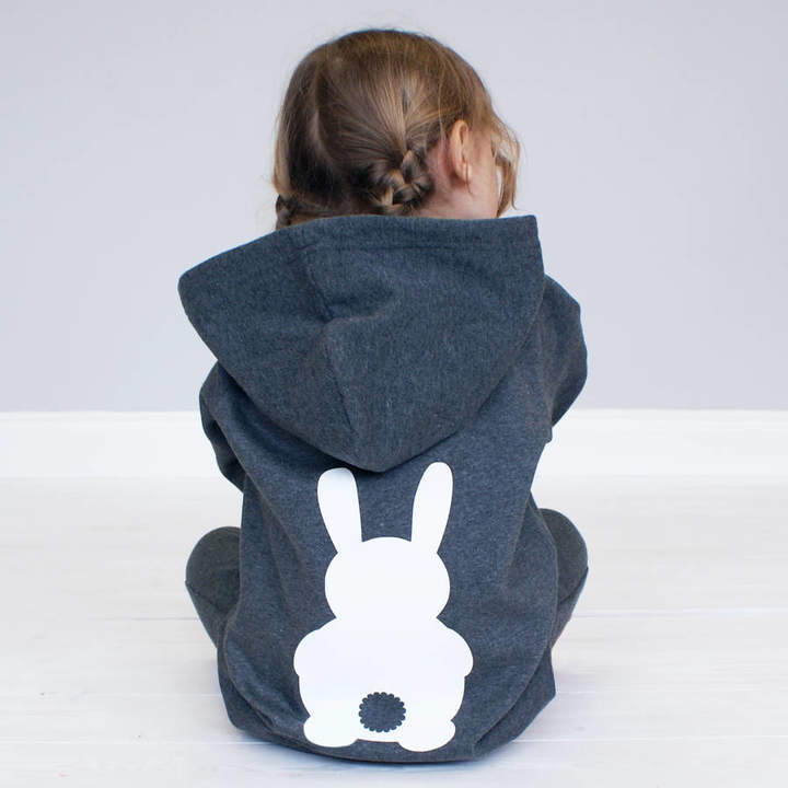 Sparks And Daughters Personalised Children's Bunny Rabbit Onesie