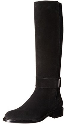 Aquatalia Women's Giada Suede Riding Boot $595 thestylecure.com