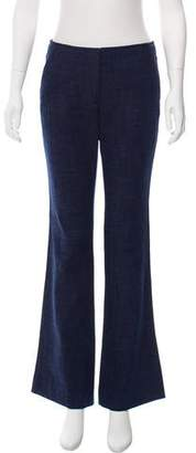 Veronica Beard Mid-Rise Flared Jeans