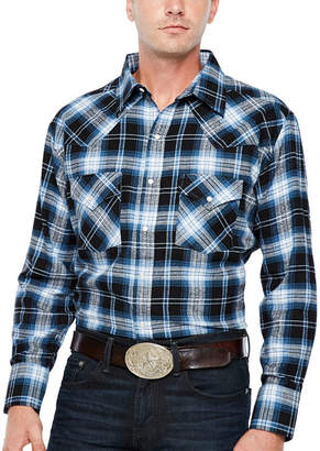 Ely Cattleman Ely 1878 Long Sleeve Flannel Western Shirt