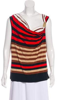 Calvin Klein Striped Sleeveless Top
