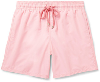 Moorea Mid-Length Swim Shorts $190 thestylecure.com