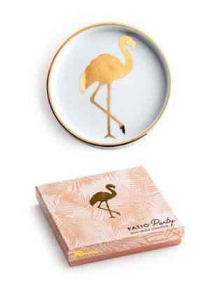 Lulu & Georgia Flamingo Coaster
