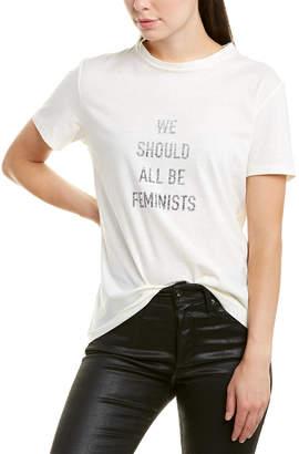 Christian Dior Graphic Linen-Blend T-Shirt