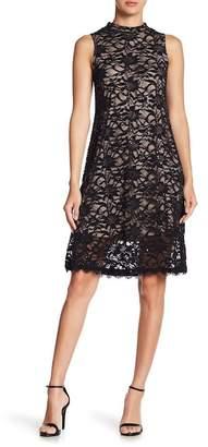 Marina Aline Lace Dress