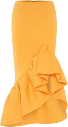 Rachel Gilbert Cora Frill Hem Skirt