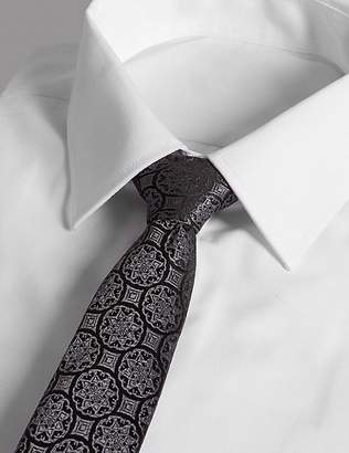 Marks and Spencer Pure Silk Foulard Tie Made with Swarovski® Elements