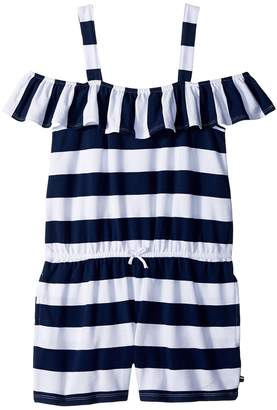 Tommy Hilfiger Rugby Stripe Romper Girl's Jumpsuit & Rompers One Piece