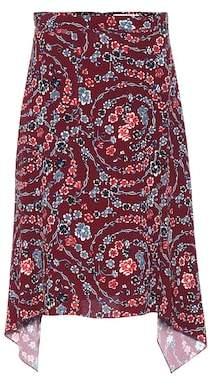 See by Chloe Floral-printed skirt