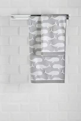 Next Whale Jacquard Towels