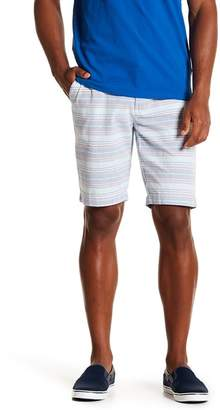 Ben Sherman Horizontal Stripe Print Shorts