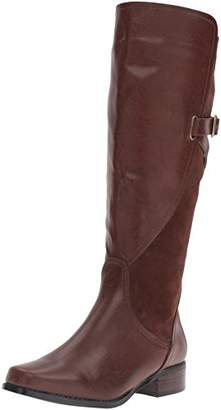 Annie Shoes Women's Noreen Wide Calf Riding Boot