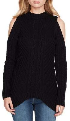 Jessica Simpson Posy Cold-Shoulder Sweater