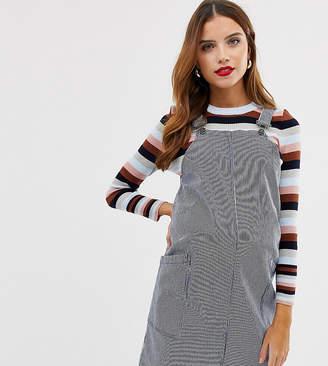 2980b14d6ee Mama Licious Mama.Licious Mamalicious maternity stripe overall mini dress
