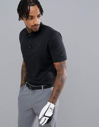 Puma Pounce Polo In Black