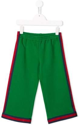 Gucci Kids stripe detail shorts