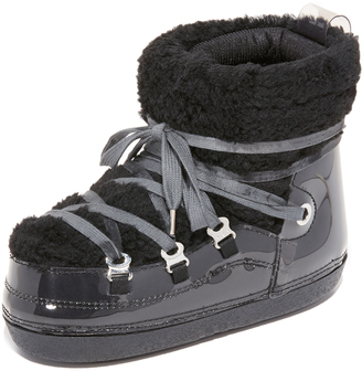 MM6 Eskimo Sneaker Booties $360 thestylecure.com