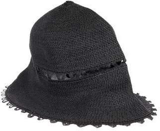 Albertus Swanepoel Peekaboo Straw Hat w/ Tags