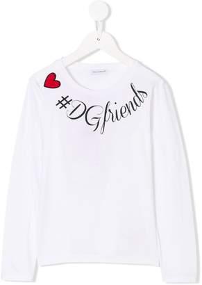 Dolce & Gabbana DGfriends printed top