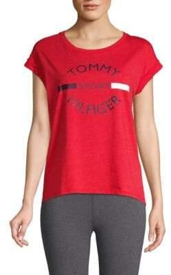 Tommy Hilfiger Cap-Sleeve Logo Tee