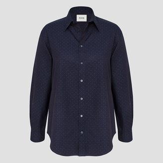 Darcy Jacquard Dot Shirt $225 thestylecure.com