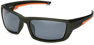Body Glove Vapor 23 Green Polarized Wrap Sunglasses