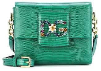 at mytheresa · Dolce   Gabbana Millennials Mini leather shoulder bag b2af05419a18e