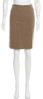 Massimo Alba Virgin Wool Plaid Skirt w/ Tags