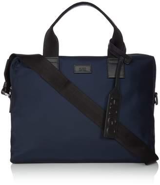 HUGO BOSS Hugo Capital Leather Trim Document Bag