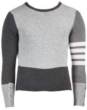 Thom Browne Cashmere Tonal Sweater