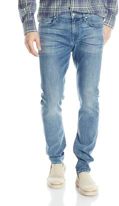 7 For All Mankind Men's Paxtyn Skinny Tapered Jean in Foolproof Classic