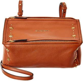 Givenchy Star Embellished Mini Pandora Leather Crossbody