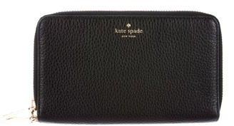 Kate SpadeKate Spade New York Grey Street Tiera Clutch Wallet