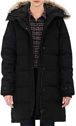 Canada Goose Women's Fur-Trimmed Massey Parka $1,095 thestylecure.com