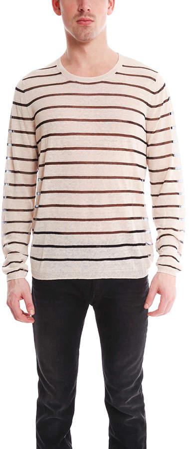 Acne Colt Pullover Stripe Sweater