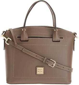 Dooney & Bourke Vachetta Leather Domed Satchel - Beacon