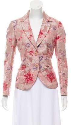 Etro Jacquard Floral Blazer