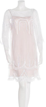 Alice by Temperley Embroidered Shift Dress $125 thestylecure.com